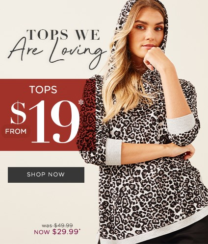 Tops From $19*