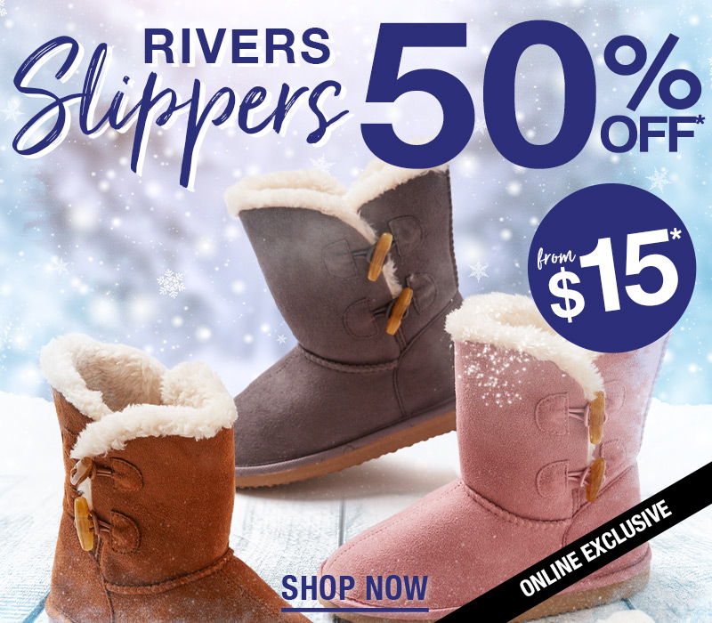 Rivers Slippers