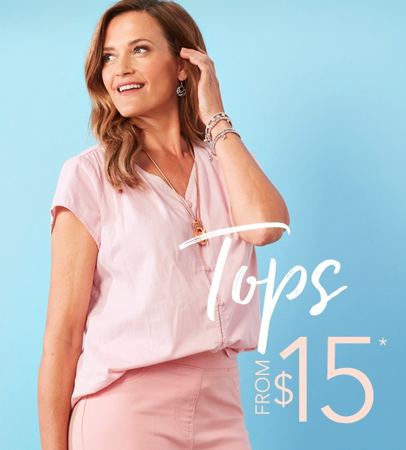 Tops from $15